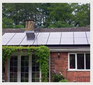 Bewdley Bungalow with 4kw solar panel Installation