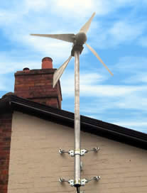 There are two types of domestic-sized turbine energy generation ...