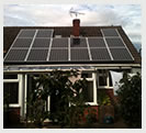 Kingswinford bungalow with 4kw solar panel instalation