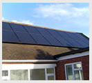 Wolverhampton house with 4kw of solar panels on the roof